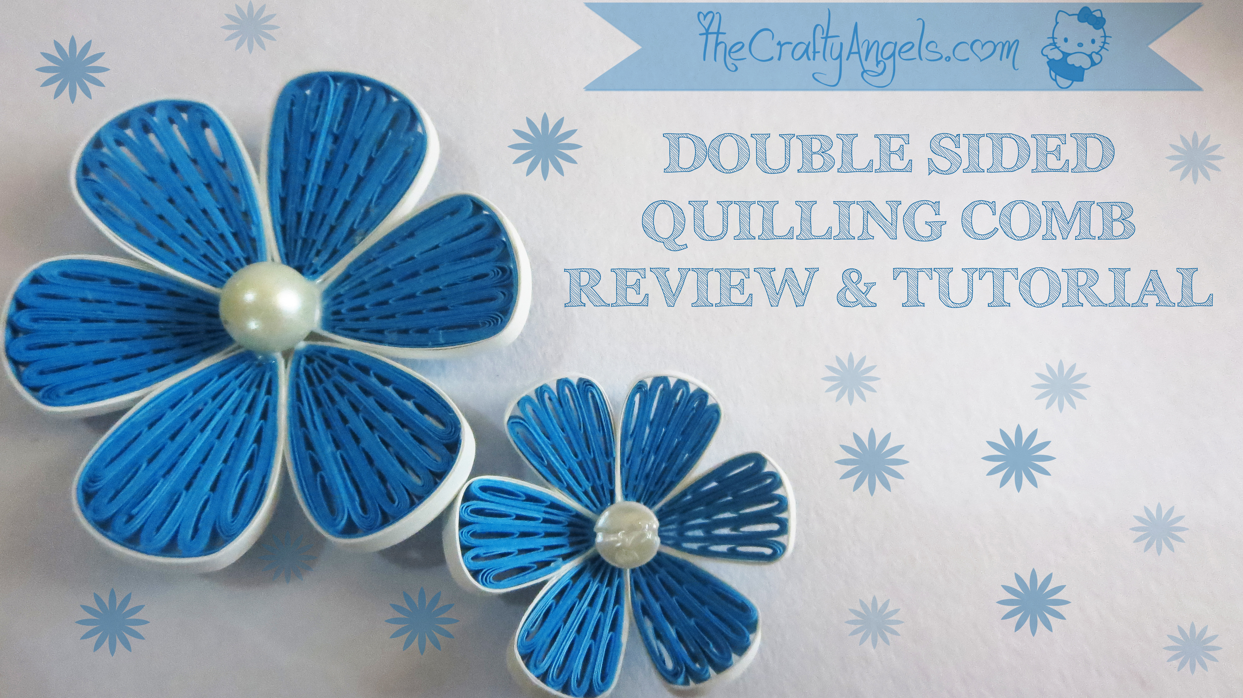 Double Sided Quilling Comb Review Tutorial