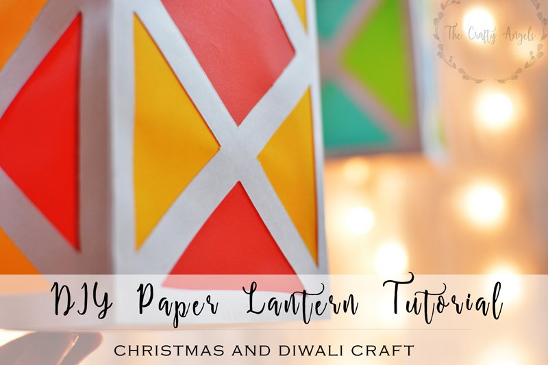 Colorful paper lantern tutorial for How to make paper lanterns easy