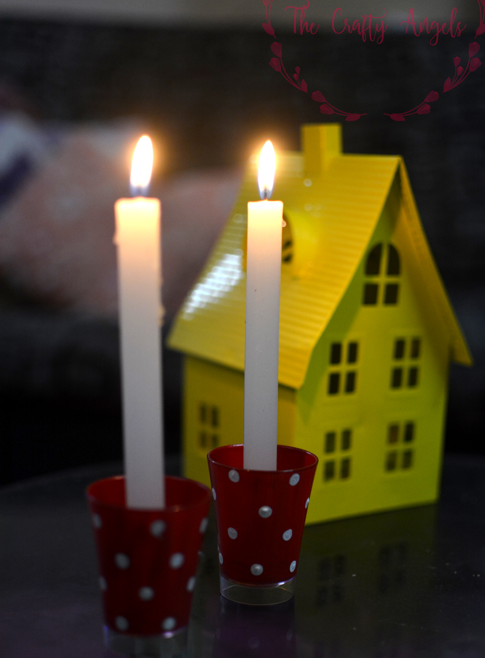 Diy advent candle holder advent candle ideas advent for Advent candle decoration