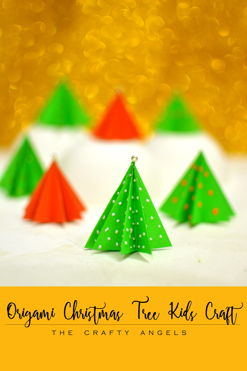 christmas tree crafts origami tree craft craft 1314